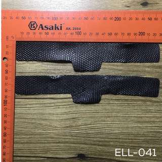 ELL-041 lizard leather strips
