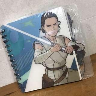 Disney Store Star-War series notebook