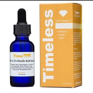 Timeless 20% vitamin c+e ferulic serum
