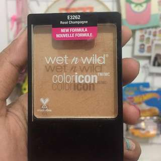 Wet 'n Wild Color Icon Blush shade Rose Champagne