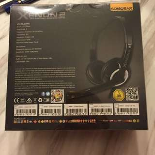 BNIB Sonia Gear Xenon2 Head Set