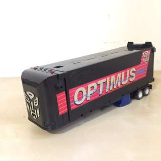 1993 G2 Optimus Prime Trailer & Talking Soundbox (Works) Please Read