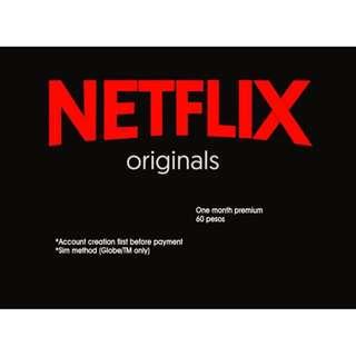 Netflix Premium for 1 month
