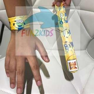 Minion Snap Wrist Band