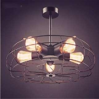 🚚 大人氣!最潮LOFT工業電風扇燈