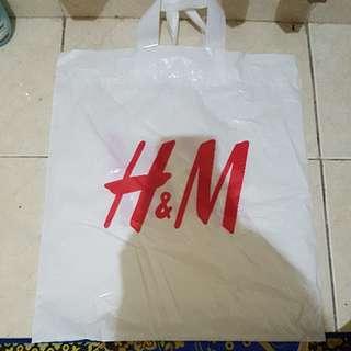 HnM Plastic Bag Shopping Bag