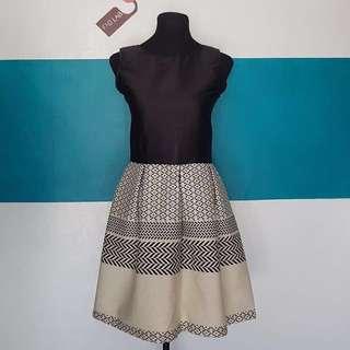 [Brand New] Classy Black Top Dress