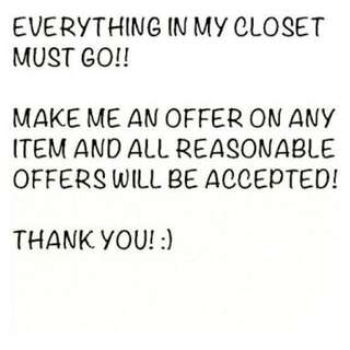 Make an offer! I have heaps of unposted items !