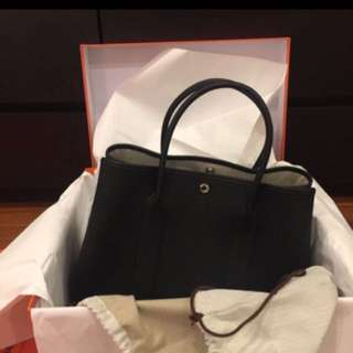 Authentic hermes garden party (Black)