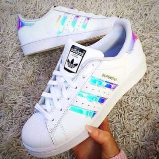 INSTOCK Ø Original Adidas Superstar Holographic