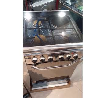 Markes stainless gas range oven with safety device 50cm x 50cm model: MRGS50
