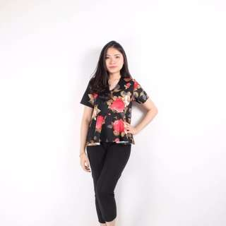 SALE keizha flower blouse