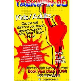 Kids / Adult Taekwondo Class @ Choa Chu Kang / Jurong