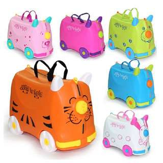 Bag trolley for baby