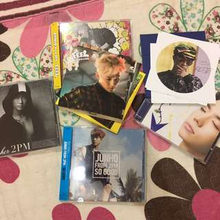Wooyoung & Junho's Japanese albums