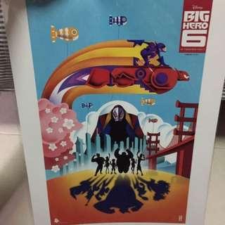Big Hero 6 A3 Poster