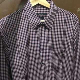 [USED][用過] Gucci 男Shirt 40 / 15.75 Skinny