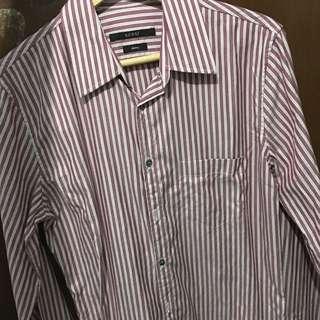 [USED][用過]Gucci 男Shirt 38 / 15 Skinny