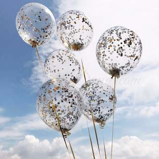 Helium Balloons Confetti