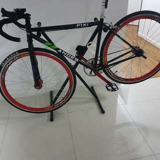 Andes Fixie With Thickslick tyres.