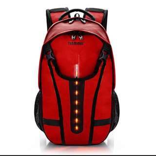 Terminus Cyclist Backpack - with blinking LED and reflective strips