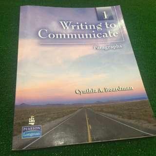 Writing to communicate 寫作