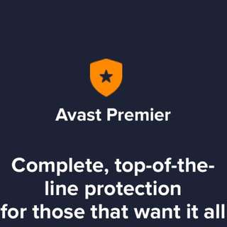 Premier ( AVAST ) Antivirus Protection