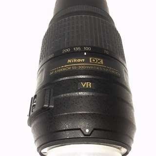 Nikon Lens 55-300 ED VR