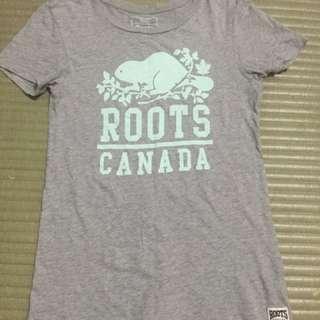 Roots 短袖t