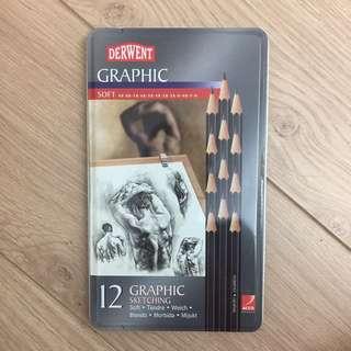英國Derwent 素描鉛筆