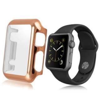 38 42mm Thin Plated PC Hard Protective Case Cover For Apple Watch