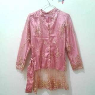 Kebaya Pink Gold