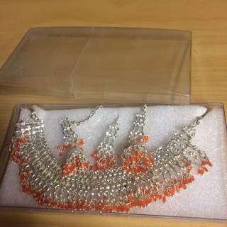 Indian orange set