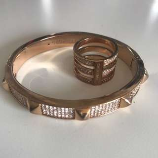Michael Kors Ring and Bangle