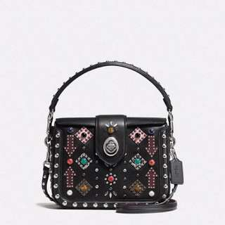 Coach Crossbody with Western Rivets