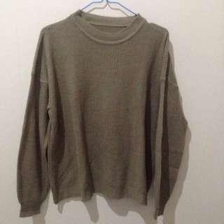 Sweater Rajut Warna Milo
