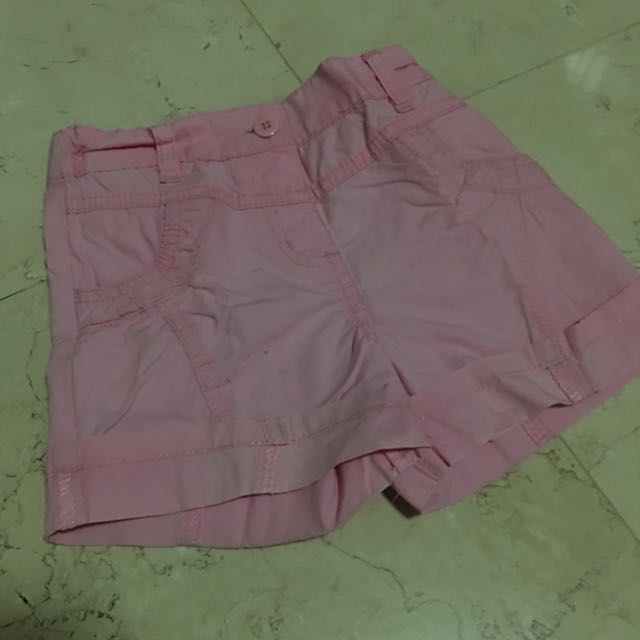 2-4Y Mini Oldi Pink Shorts