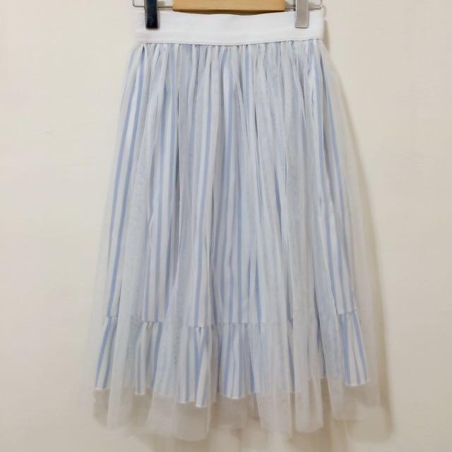 二手🍎雜誌款唯美紗裙