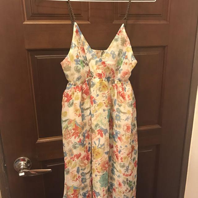 小碎花洋裝