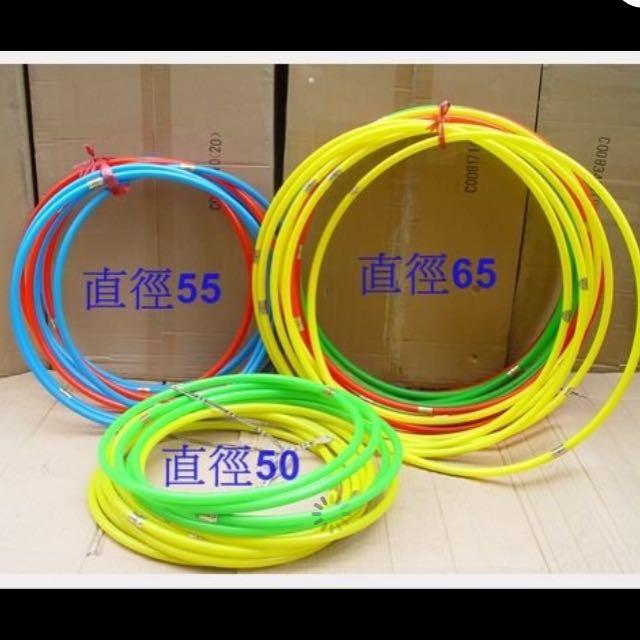 塑膠圈 彩色呼拉圈 遊戲教學可用