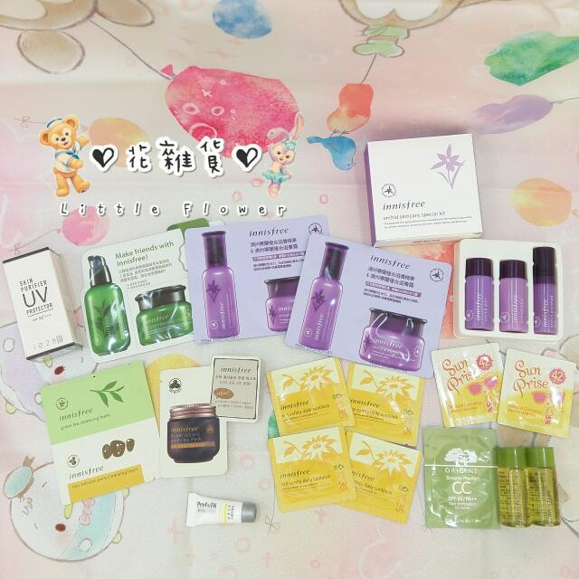 ♡ 花雜貨 ♡ 20入美妝保養品 innisfree/ETUDE HOUSE/ORIGINS/Prof+TK/1028