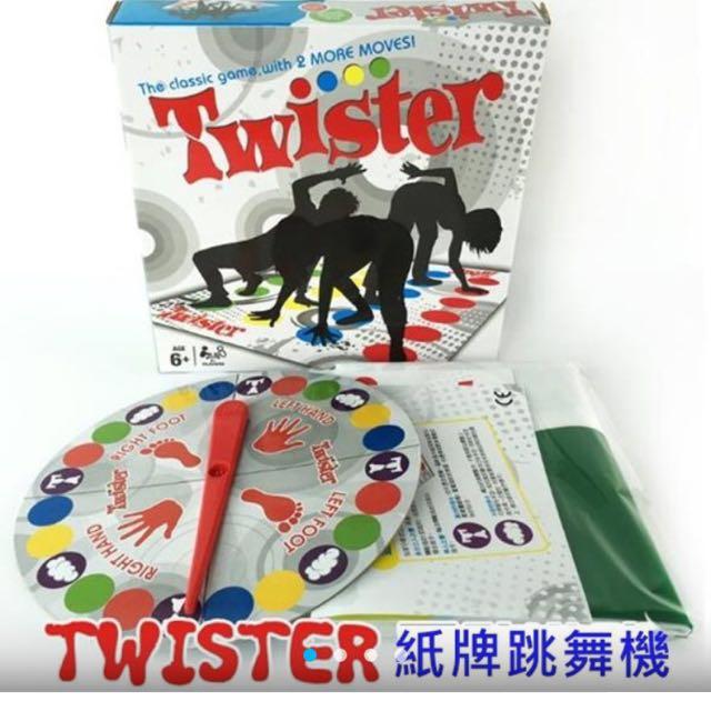 扭扭樂 紙牌跳舞機 twister