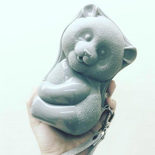 Adamo 3D Kim Kim Panda Clutch