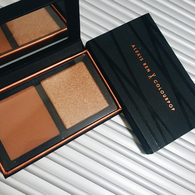 Alexis Ren x Colourpop Bronze and Highlighting Palette