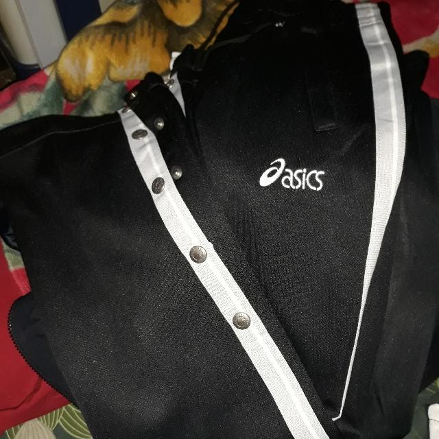 Asics Trackpants /side Stripes Pants