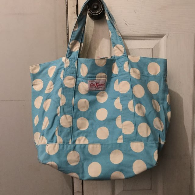 Authentic cath kidston canvas open tote