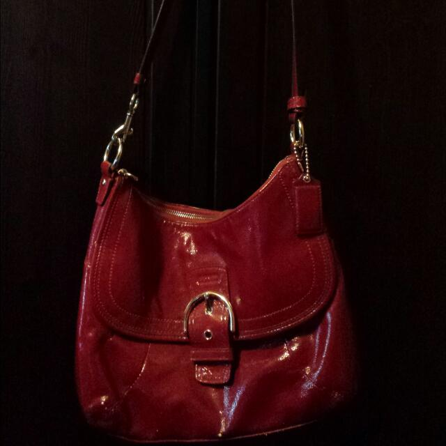 Authentic Coach Purse Gently Used No Refunds or Exchanges