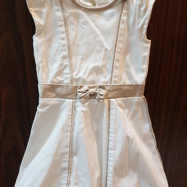 baby fashionista 18 to 24 months cream dress