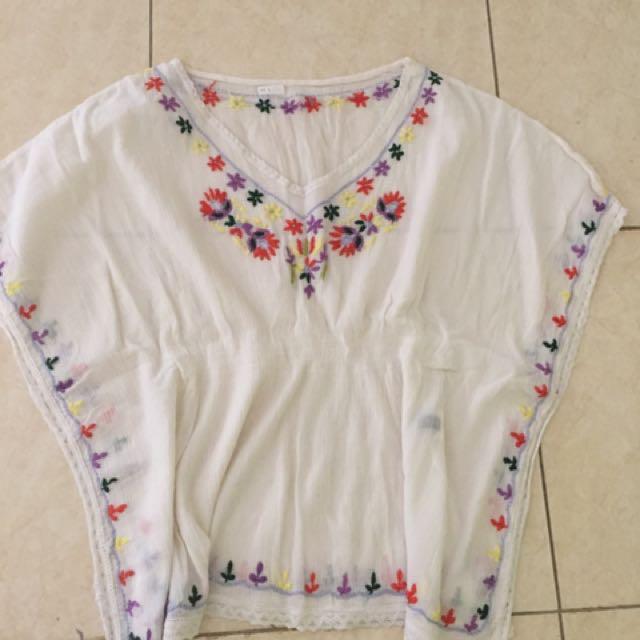 Baju Batwing