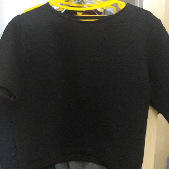 Baju Hitam Colorbox - M